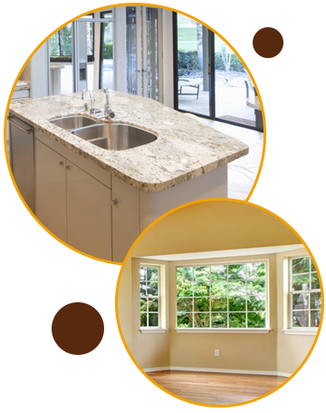 Countertop and Windows